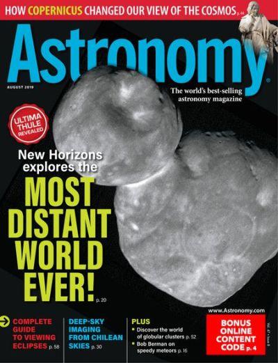 Astronomy – August 2019