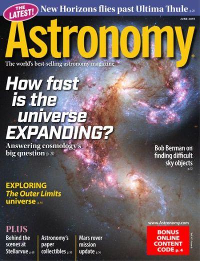 Astronomy – June 2019