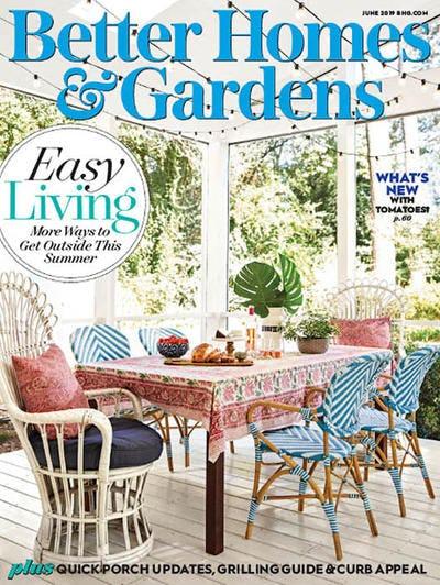 Better Homes & Gardens USA – June 2019