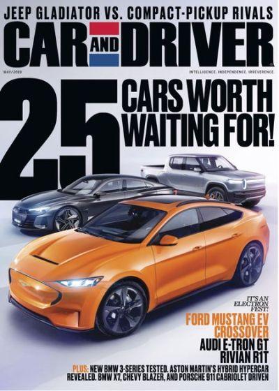 Car and Driver USA – May 2019