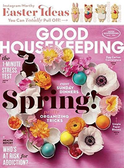 Good Housekeeping USA- April 2019