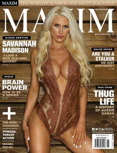 Maxim New Zealand – June 2019