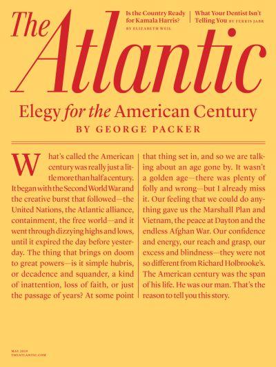 The Atlantic – May 2019