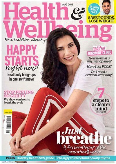 Health & Wellbeing – August 2019