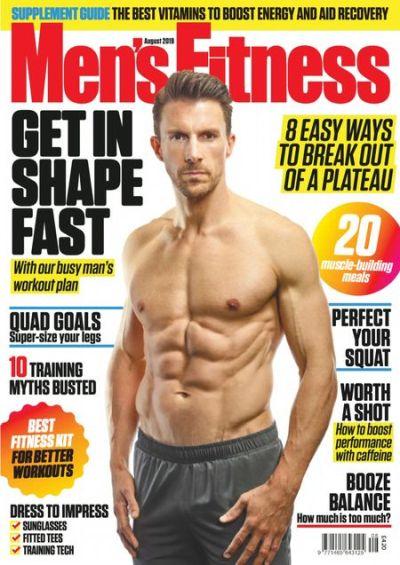 Men's Fitness UK – August 2019