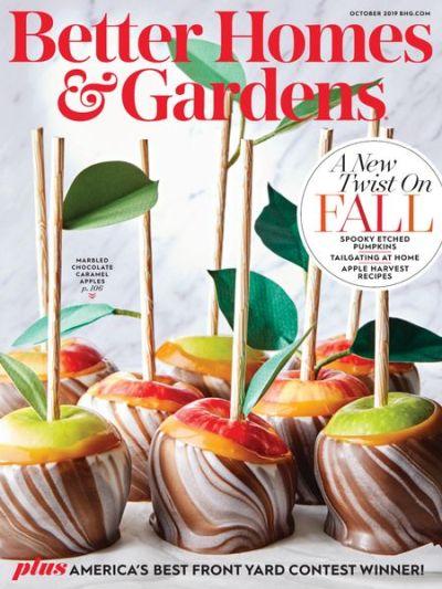 Better Homes & Gardens USA  – October 2019