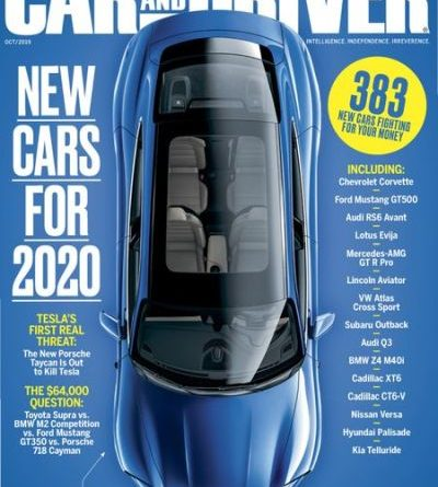 Car and Driver USA - October 2019