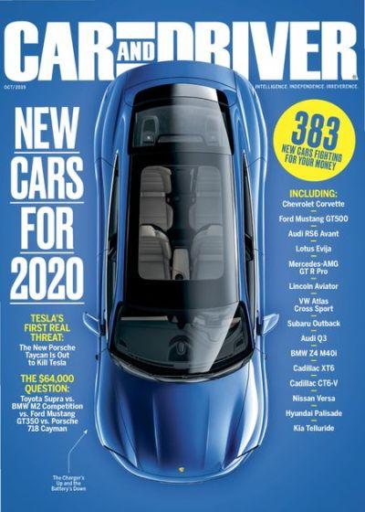 Car and Driver USA - October 2019