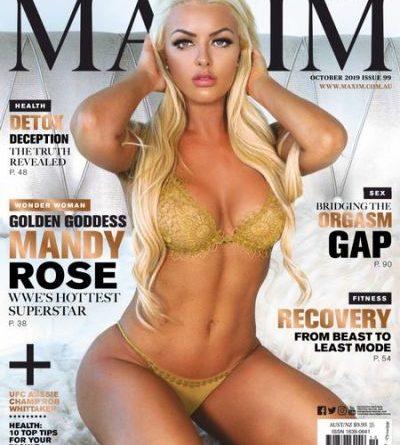 Maxim Australia - October 2019