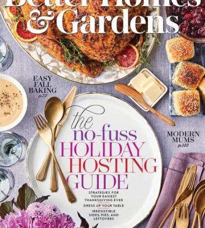 Better Homes & Gardens USA - November 2019