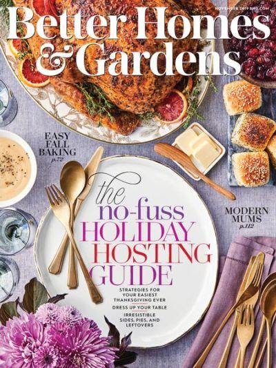 Better Homes & Gardens USA – November 2019