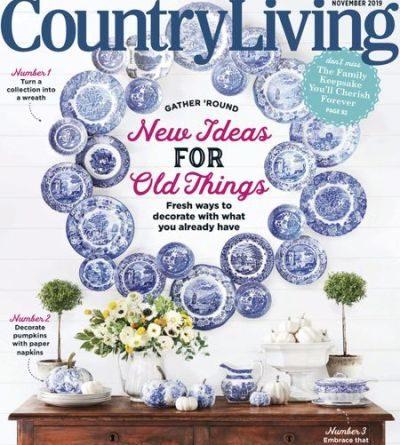 Country Living USA - November 2019