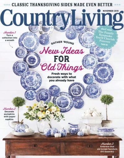 Country Living USA – November 2019