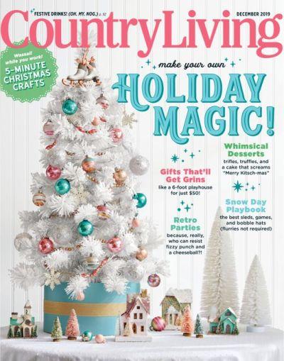 Country Living USA - December 2019