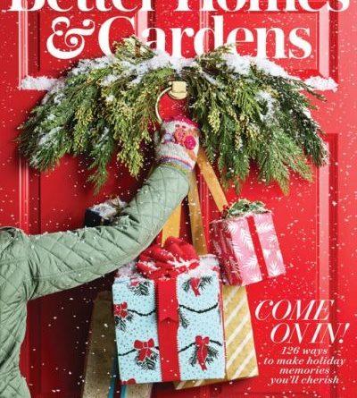Better Homes & Gardens USA - December 2019