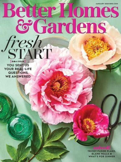 Better Homes & Gardens USA – January 2020