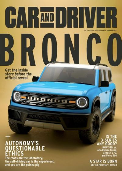 Car and Driver USA - February 2020