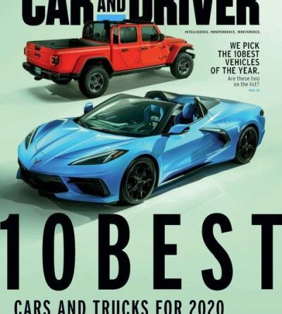 Car and Driver USA - January 2020