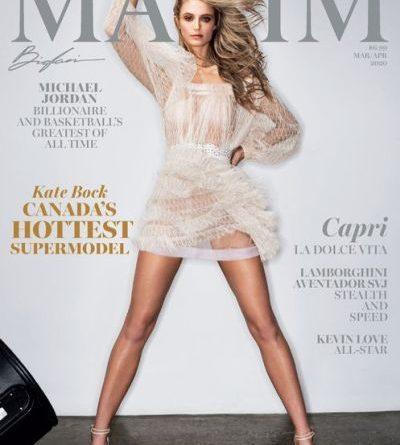 Maxim USA - March / April 2020