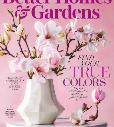 Better Homes & Gardens USA - April 2020