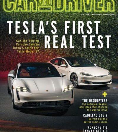 Car and Driver USA - April 2020