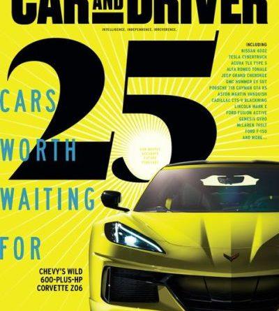Car and Driver USA - May 2020