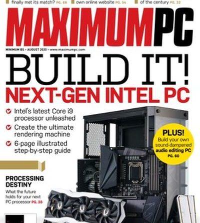 Maximum PC - August 2020
