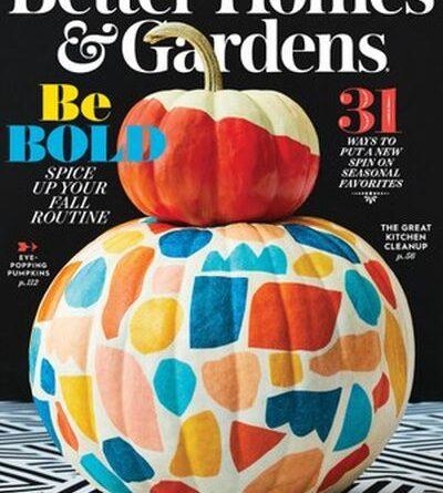 Better Homes & Gardens USA - October 2020