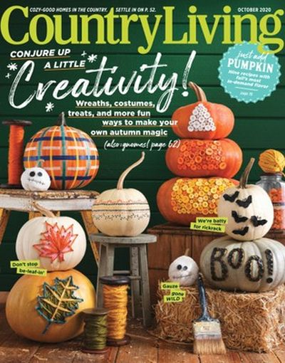 Country Living USA - October 2020