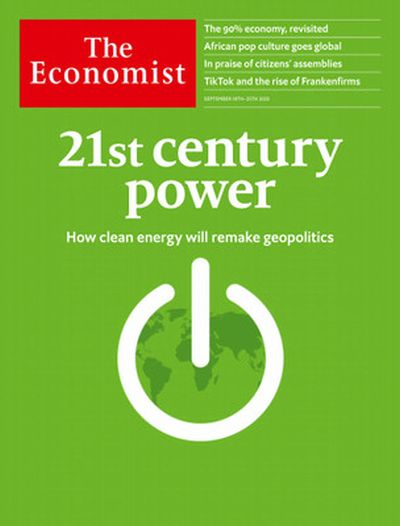The Economist USA - September 19 , 2020