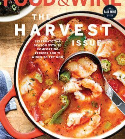 Food & Wine USA - October 2020