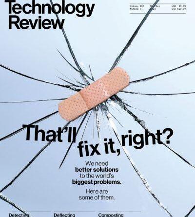 MIT Technology Review - November / December 2020