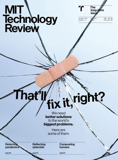MIT Technology Review - November / December 2020