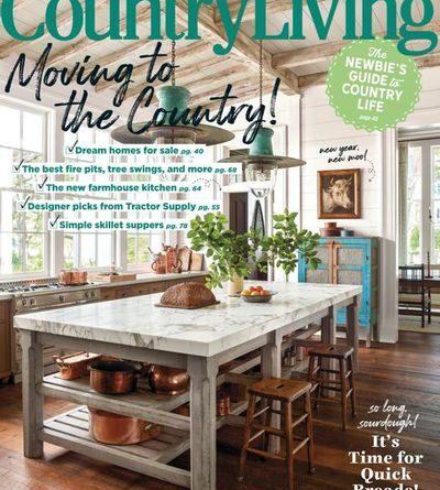 Country Living USA - January / February 2021