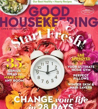 Good Housekeeping USA – January / February 2021