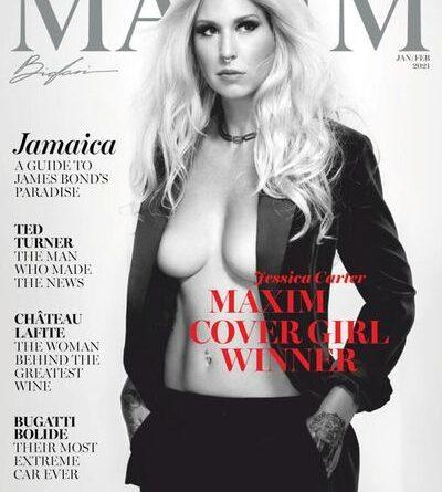 Maxim USA - January / February 2021