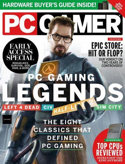 PC Gamer USA – April 2021