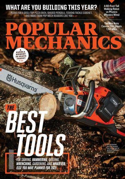Popular Mechanics USA - March / April 2021