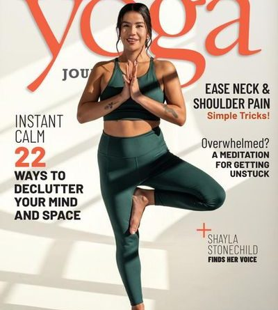 Yoga Journal – March / April 2021