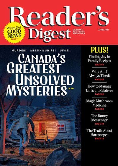 Reader's Digest Canada – April 2021