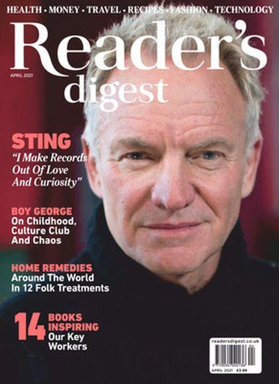 Reader's Digest UK - April 2021