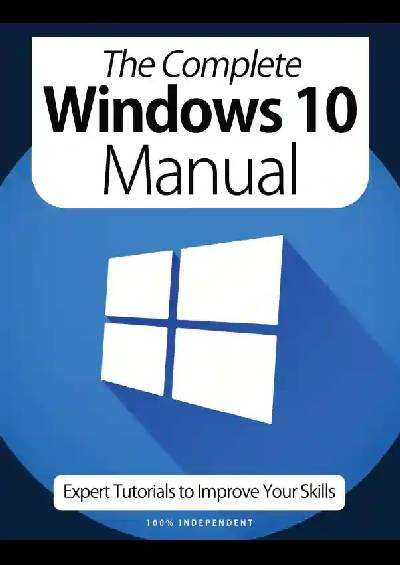 The Complete Windows 10 Manual – 9th Edition, 2021