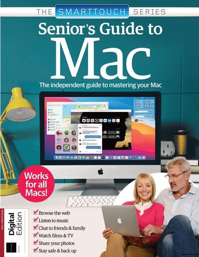 Senior's Guide To Mac – 6th Edition, 2021